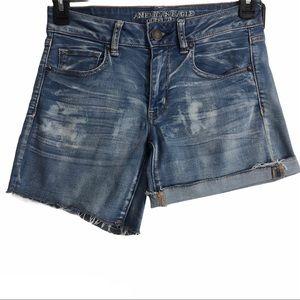 American Eagle Midi Shorts 8